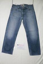 Levi's 503 LOOSE usato (Cod.H2587) W34 L34  ACCORCIATO L30 denim jeans rilassato