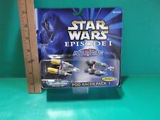Star Wars Episode l Micro Machines Pod Racer Pack 1 Galoob 1998