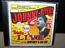 "JOHNNY RIVERS ""LIVE AT THE WHISKEY A GO GO"" U.S. CD SEALED"