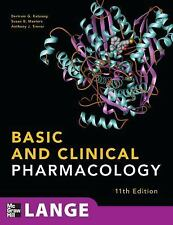 Basic and Clinical Pharmacology, 11th Edition (LANGE Basic Science), Bertram Kat