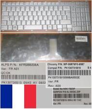 French Keyboard Toshiba Satellite L500 L500D L505 L505D Series MP-06876F0-6987