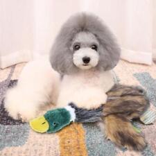 Wild Duck Pet Animal Dog Cat Chew Training Gifts Sounding Plush Toy SN9F