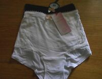 *M & S* 2 Pairs Low Rise SHORTS/BRIEFS/KNICKERS Size 20  BNWT