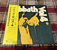 BLACK SABBATH VOL.4 VERTIGO RJ5049 Japan OBI VINYL LP