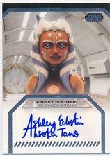 2012 Star Wars Galactic Files Autograph Auto Ashley Eckstein Ahsoka Tano (A)