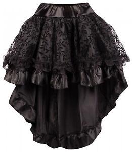 Damen Burleske Steampunk Rock für Corsage Chiffon Übergrößen Wäschebeutel