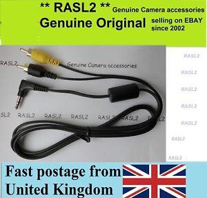 AV Cable For Samsung DV Camcorder VP-L600 VP- W36 W61d A30 VP-W80 W63 VP-W97 W90