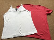 2 Gap Large Girls T Shirt And Vest Top