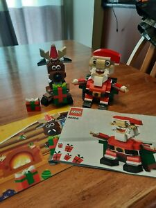 Lego 40092 And 40206 Reindeer And Santa