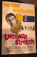 TWO-WAY STRETCH English 1sh '60 prisoner Peter Sellers