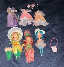 Rose Petal Place Dolls & Clothes Lot Kenner 1980s Eighties- 3 Dolls