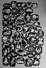 bm2017-setA BOYS 50 different stencils plus 6 free glitters glitter tattoo L@@K