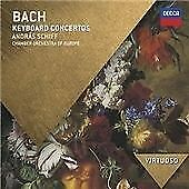 Bach, J.S.: Keyboard Concertos (Virtuoso series), András Schiff, Audio CD, New,