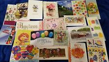 20 Assorted Birthday Greeting Cards All are Birthday with Great Designs Lot B