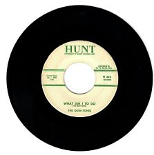 The Quin-Tones 1958 Hunt 45rpm What Am I To Do b/w There'll Be No Sorrow Doo-Wop