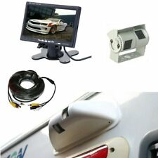 "Rear view system 7"" Dash Monitor & Double twin CCD Camera and Protective Cowl"