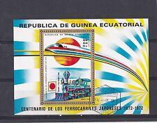 Guinea-Ecuatorial 1972 - Treinen / Trains / Eisenbahn