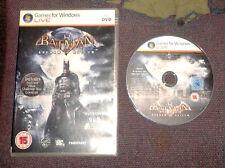 Batman Arkham Asylum for PC, DVD-ROM (Windows) - VGC