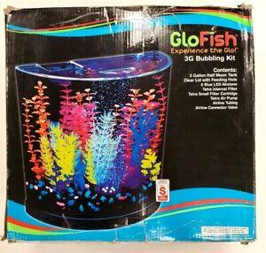 GloFish Aquarium Fish Tank LED Lighting 3 Gallon - New Damaged Box