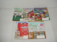 Lot of 5 Country Living Magazines 2018