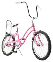 "20"" Schwinn Fair Lady Bicycle, Banana Seat Bike, Single Speed, Pink"