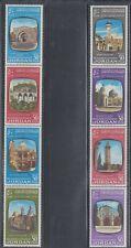 Jordan 1963 Churches Mosques Sc 391a,395a Mint Lightly Hinged