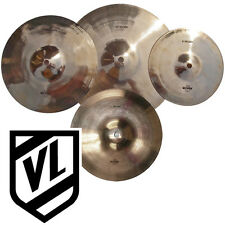 "Wuhan 8"" 10"" 11"" 12""  Splash Cymbal Set - 4 cymbals - Traditional cymbals - NEW"