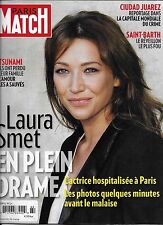Paris Match magazine Laura Smet Saint Barth Juarez Mexico Sebastien Chabal