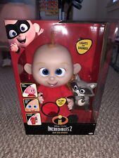 NEW! Disney Pixar 🔥 Incredibles 2 Jack-Jack Attacks with raccoon VHTF Lights-up