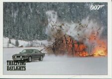James Bond Archives 2016 Spectre Gold Parallel Living Daylights Chase Card #25