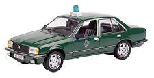 03425 SCHUCO 1:43 Opel Rekord E Polizei Hamburg HH