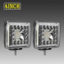 """2PCS Side Shooter 4""""INCH 288W LED Light Bar Pods Lights Off-Road Tractor 4WD 12V"""
