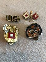 Lot Of 4 US Military Pins Vintage?