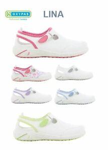 Oxypas LINA Damen ESD Berufsschuhe  Pflege Krankenschwester Schuhe Neues Modell