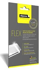 3x Sony Xperia XZ Premium Schutzfolie Folie, 100% Displayabdeckung, dipos Flex