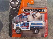 Matchbox 2016 #073/120 FORD SUPERLIFT F-350 blue MBX HEROIC RESCUE Case E