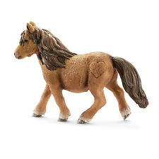 Z9) Schleich 13750 Shetland Pony caballo caballos schleichtiere schleichpferd