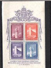 Vatican 1958 Mi  BL 2 MNH 30.-Eu