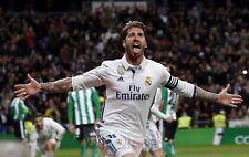 Poster A3 Sergio Ramos Real Madrid Futbol 06