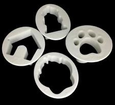 Paw Cookie Cutter Dog Sugarcraft Pastry Fondant Cake Bake Mould 4pcs Set