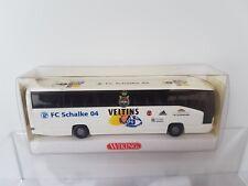 Wiking 1:87 714 09 Reisebus MB O 404 RHD Schalke 04 OVP