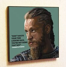 Ragnar Lothbrok Painting Decor Print Wall Art Poster Pop Canvas Quotes Decals