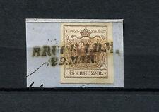 Österreich BRUCK A.D.M. Briefstück auf 6 Kr. Luxus     (#260)