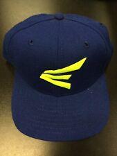 New Era Easton Sports Fitted Size 6 5/8 Cap Blue Neon Softball Baseball Hat USA