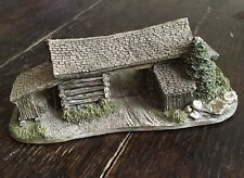 Vintage Lilliput Lane Pioneer Barn #530 American Landmarks '90 Signed By Ray Day