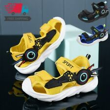Kids Boys Walking Sandals Child Athletic Closed Toe Casual Sport Shoes Comfort