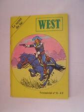 BD west n°9 de 1980
