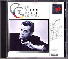 Glenn Gould: Beethoven ARR. Liszt Symphony No. 5 + 1st momento no. 6 pastorale CD