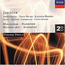 CHARLES/MARRINER,NEVILLE/WP/LPO/+ MACKERRAS - SINFONIETTA/TARAS BULBA  2 CD NEW+