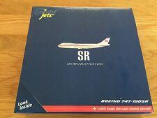 Boeing SR Demonstrator 747-100 SR Super Airbus Gemini Jets Model 1:400 GJBOE570